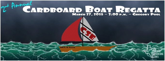 Participate in Cardboard Boat Regatta this Friday at 3 PM!