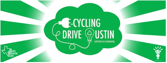 Come out to E-Cycling Drive 2015 on March 28th from 8 AM to 4 PM!