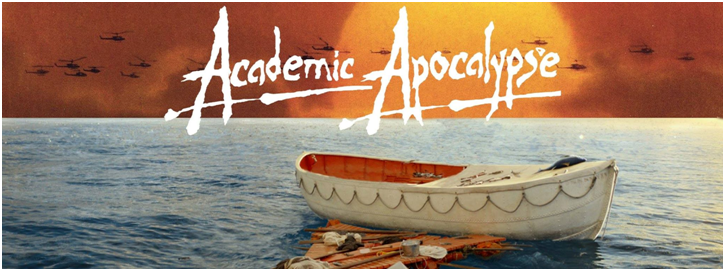 Come out to Academic Apocalypse on April 8th at 6:00 PM!
