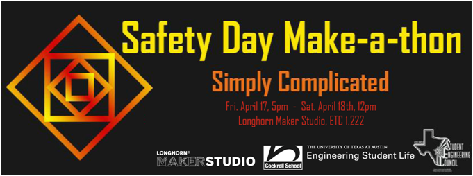 Sign up for the Safety Day Make-a-Thon by Monday, April 13th!