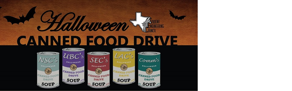 Halloween Canned Food Drive